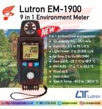 LUTRON EM-1900 9 in 1 Environment Meter