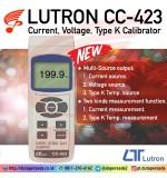 LUTRON CC-423 Current, Voltage, Type K Calibrator