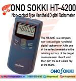 Ono Sokki HT-4200 Non-contact Type Handheld Digital Tachometer