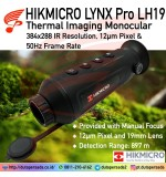 HIKMICRO LYNX Pro LH19 384x288 12μm 19mm lens Thermal Monocular